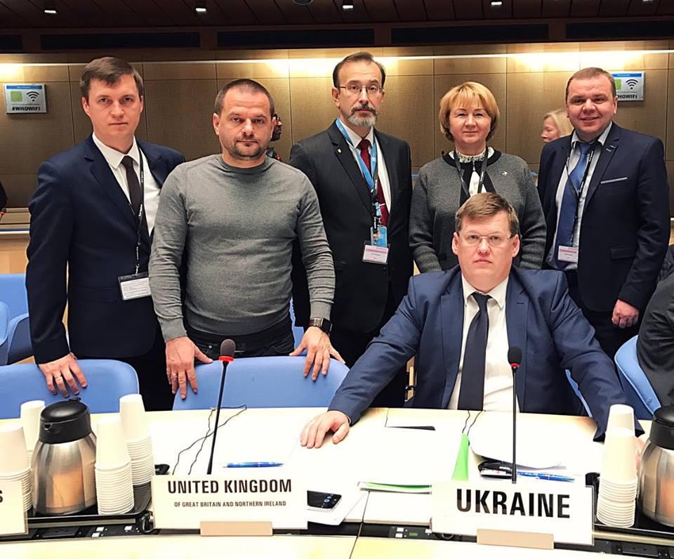 Сеть в Женеве представит успех Украины