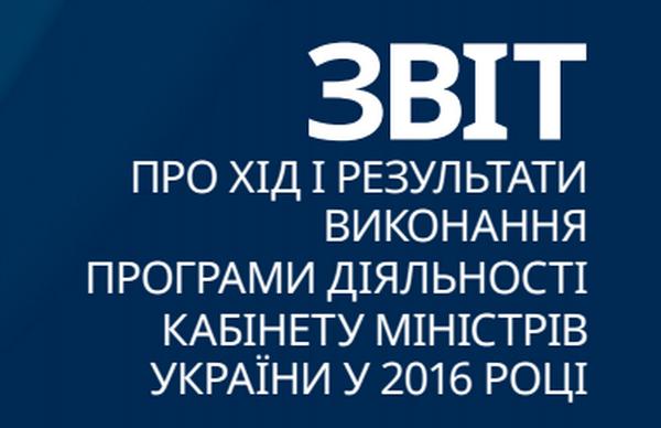 Досягнення Мережі відзначено в щорічному звіті Кабміну України