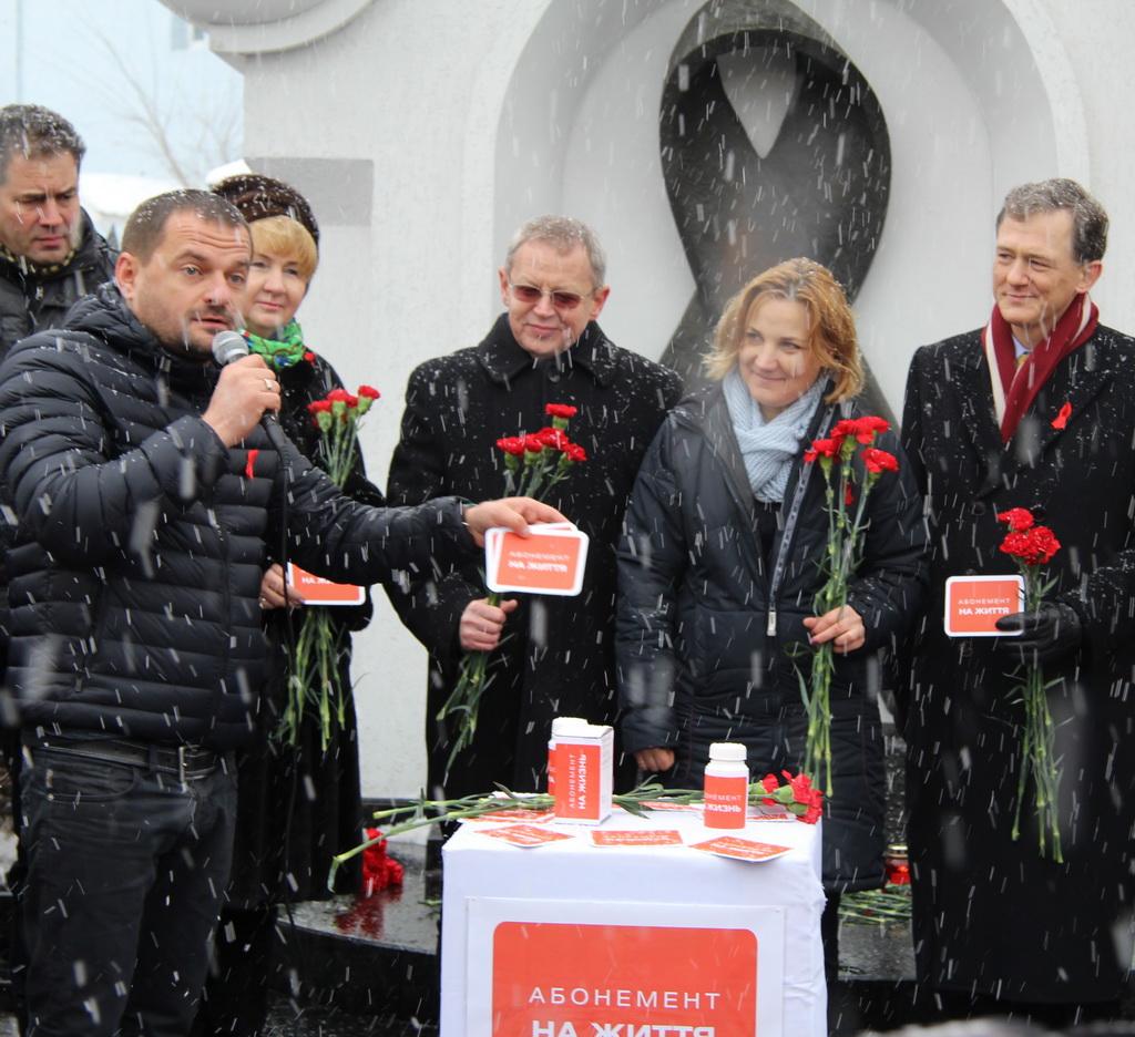 101000 Украинская получили «Абонемент на жизнь»