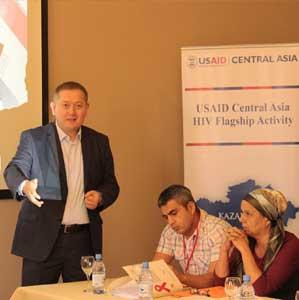 Мережа поширює кращі практики з протидії стигмі та дискримінації, пов'язаної з ВІЛ, у медичних закладах на Центрально-Азіатський регіон