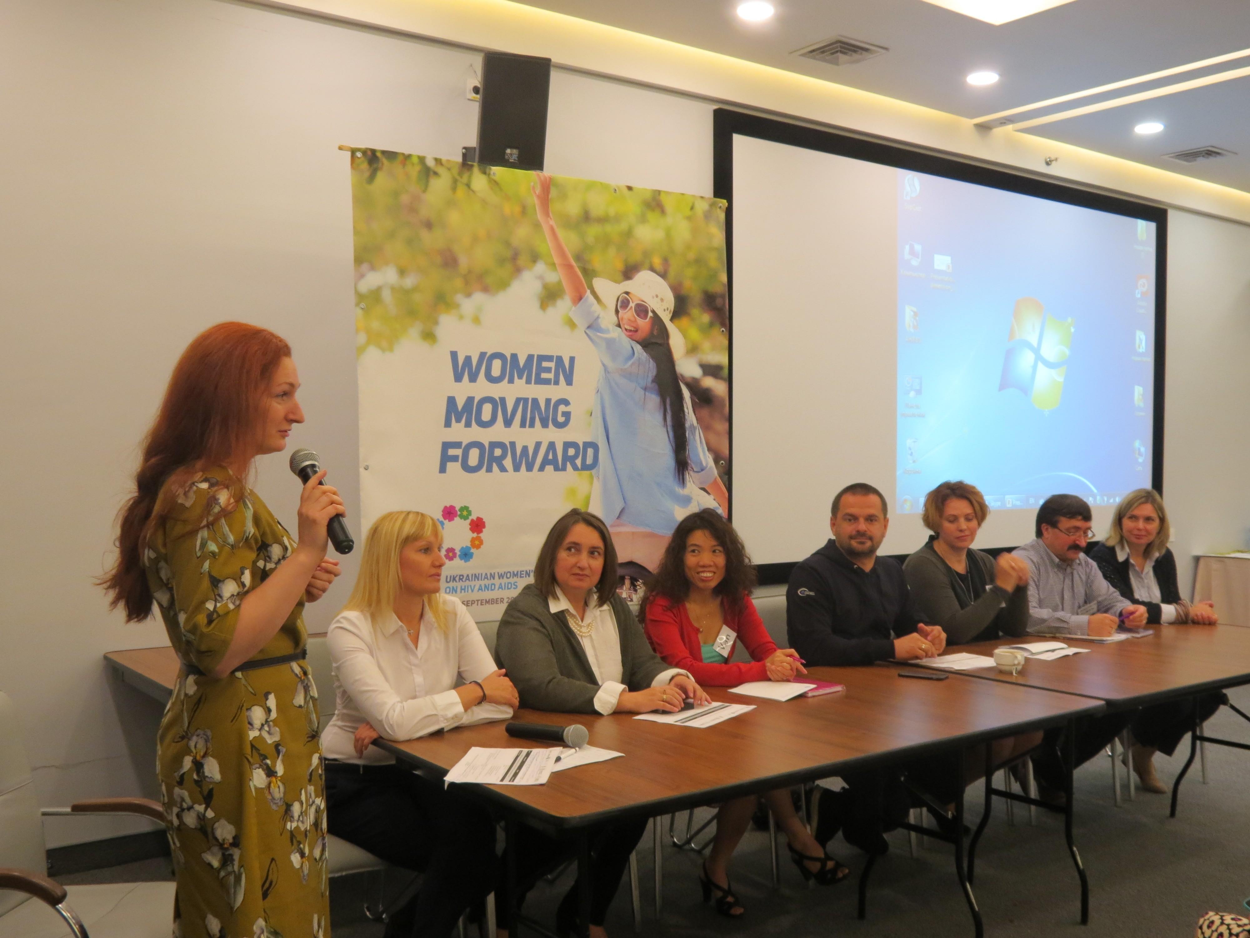 Положительные женщины из пяти стран обсудили в Одессе стратегии по сохранению здоровья