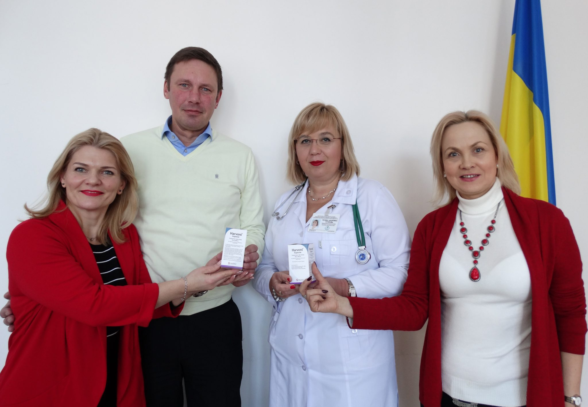 In the framework of the EQUIP project in Kiev hepatitis C was started