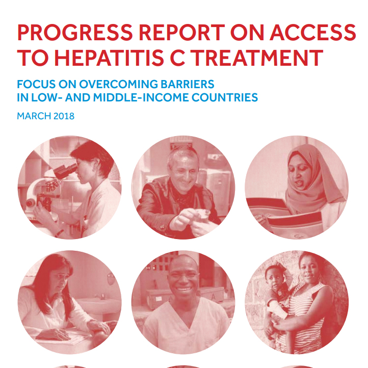WHO has released a report on progress in access to hepatitis C treatment in 2018