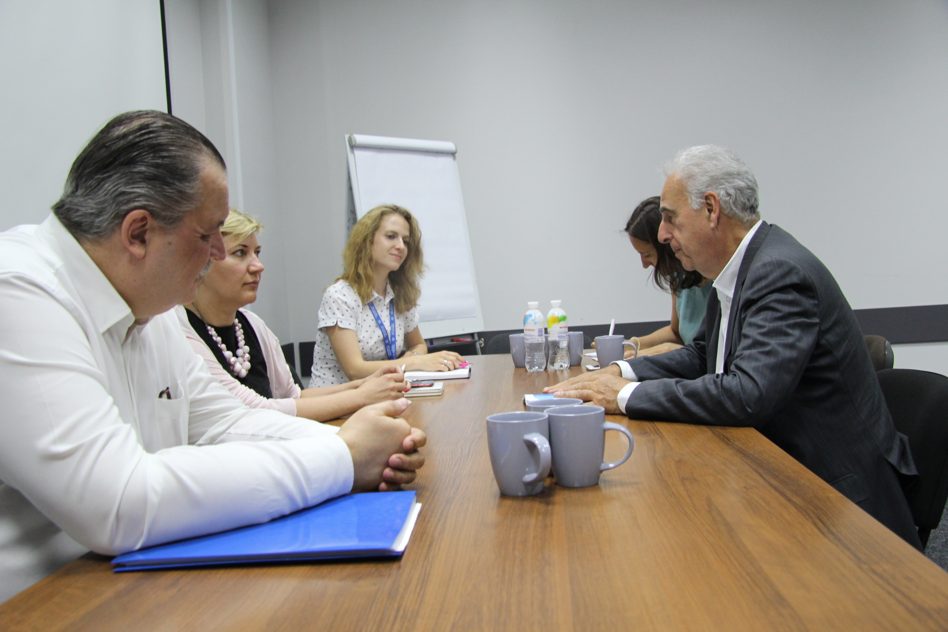 Michel Kazatchkin met with representatives of the Network