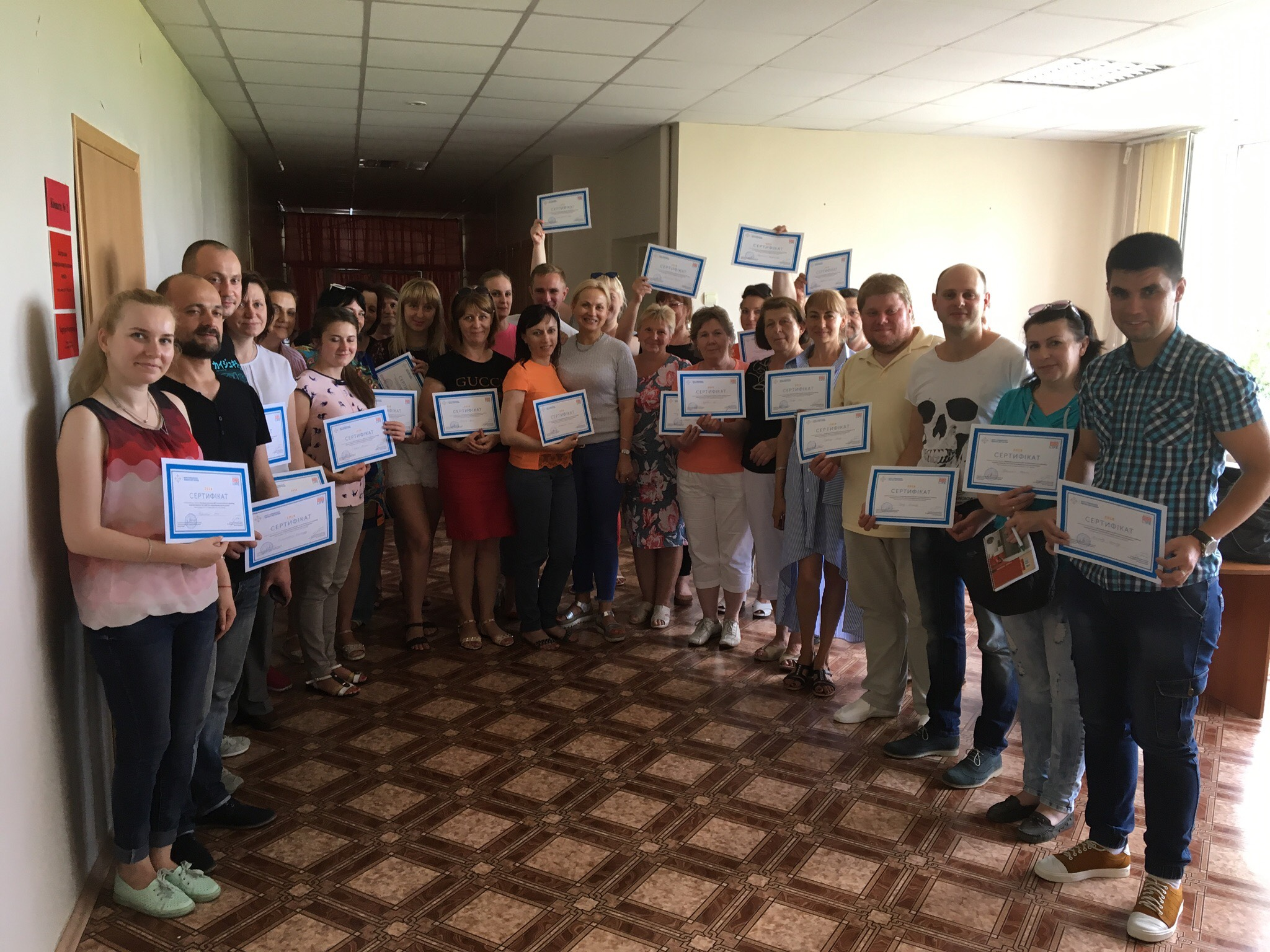 DOT at the outpatient stage – training in the Dnieper