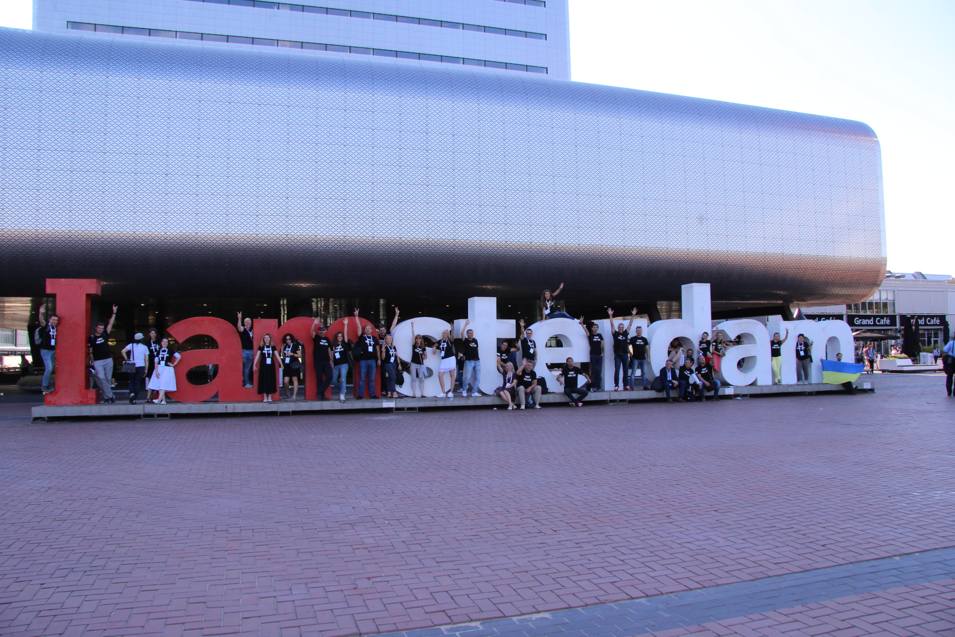 The Delegation of the Network participates in the International HIV / AIDS Conference AIDS-2018