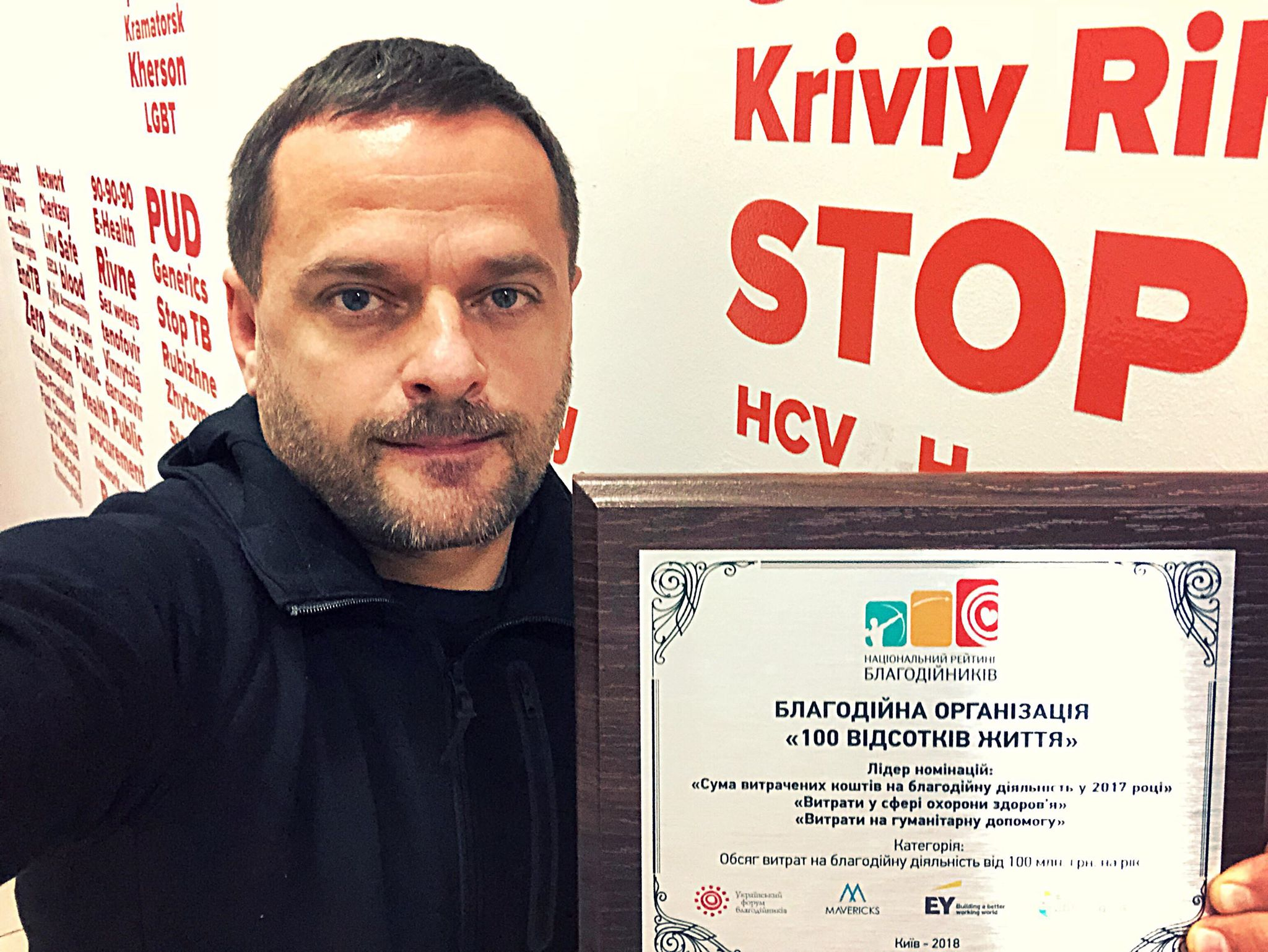"""100% LIFE"" is again recognized as Ukraine's greatest philanthropist"