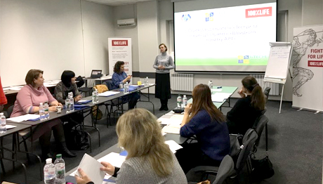 Peer to Peer: CO «100% LIFE» сonducts ToT for I-TECH trainers