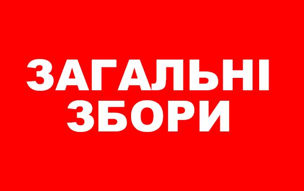 Загальні збори учасників Благодійної організації «Всеукраїнська мережа людей, які живуть з ВІЛ/СНІД»