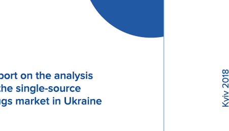 Report on the analysis of the single-source drugs market in Ukraine