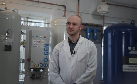 Ukrainian hospitals will be equipped with autonomous oxygen generation stations